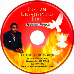 Lust An Unsatisfying Fire CD