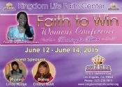 Faith to Win 15  Sunday - Bishop Crystal Bush
