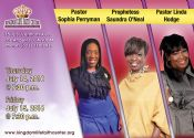 Faith to Win 16 Thursday - Prophetess Saundra O'Neal